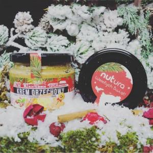 Krem orzechowy z dodatkiem pomarańczy i maku o smaku piernikowym