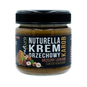 Hazelnut spread with carob